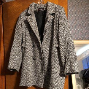 Vintage Modiano walking coat M
